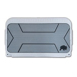 Gray Gatorstep Traction Pad for Bison Coolers Ice Chests