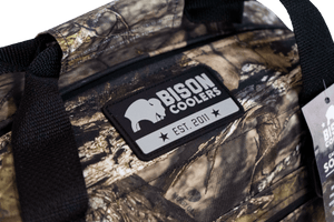 Bison 24 Can - Mossy Oak Camo SoftPak Cooler