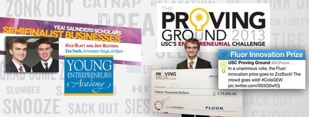 YEA and ProvenGround Competition- Flour Innovation Award for college dorm and home bedding that zips on your twin or XL-twin bed.  Warm comforter for cold weather locations and air conditioned rooms.