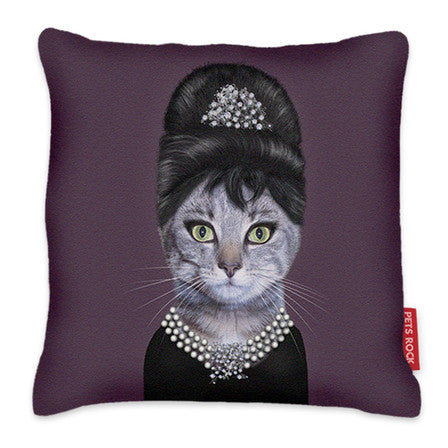 Pets Rock Cushion Breakfast