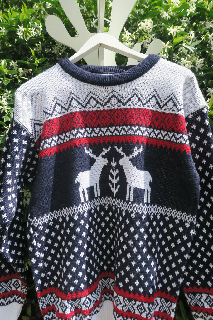 Reindeer Sweater - Two Reindeer
