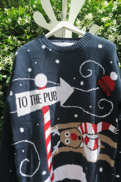 Christmas Sweater - To the Pub