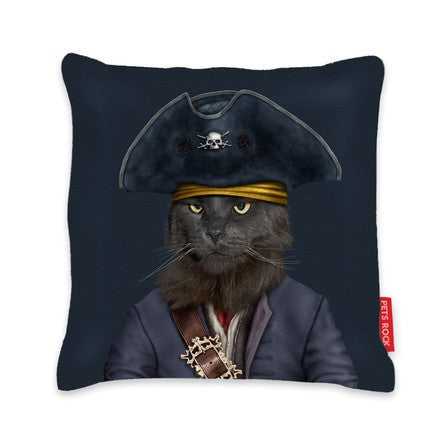 Pets Rock Cushion Catbeard