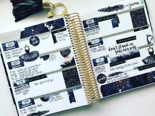 Black Swan Planner Stickers
