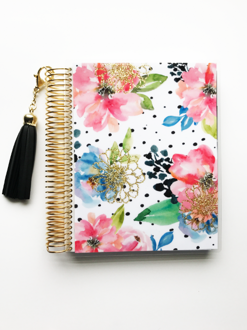 stylish planner glitter cover