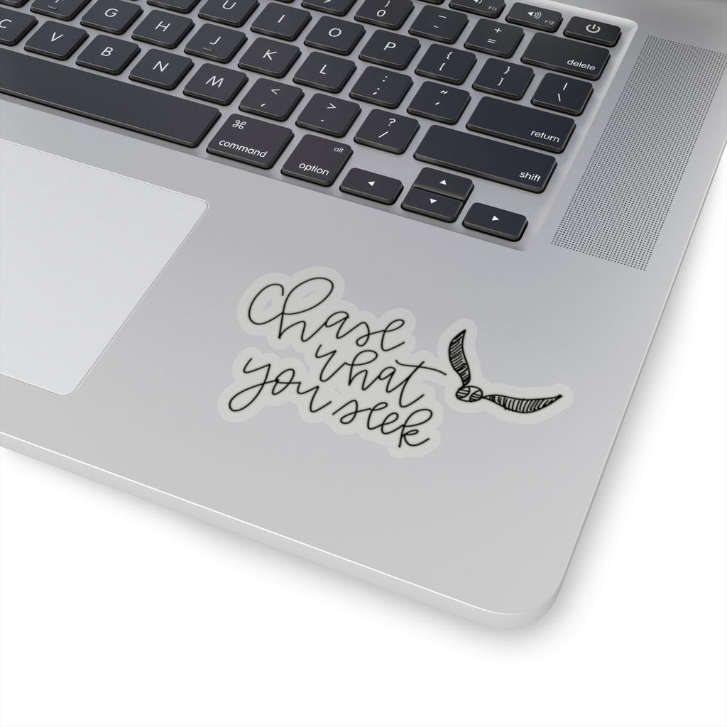 Stylish Planners Home Decor and Stylish Gifts - Chase What You Seek Sticker