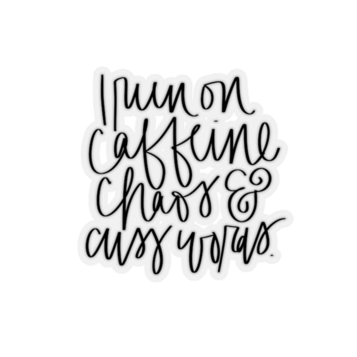 Stylish Planners Home Decor and Stylish Gifts - Caffeine and Chaos Sticker