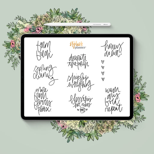 Stylish Planners Home Decor and Stylish Gifts - BUNDLE: Farmhouse Digital Planner Stickers