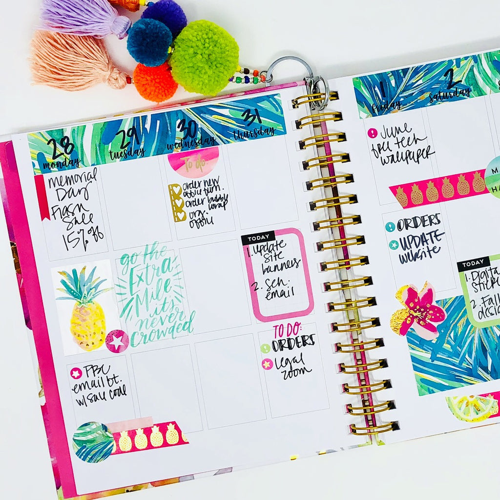 Stylish Planners Home Decor and Stylish Gifts - The Stylish Planner® - Hardbound Your Way Planner (12-months undated)