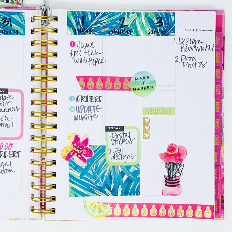 Stylish Planners Home Decor and Stylish Gifts - The Stylish Planner: The Stylish Planner™ Your Way Planner (12-months)