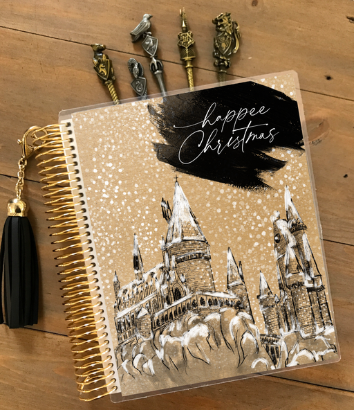 Happee Christmas Planner Cover - Stylish & Co by Britt Mills