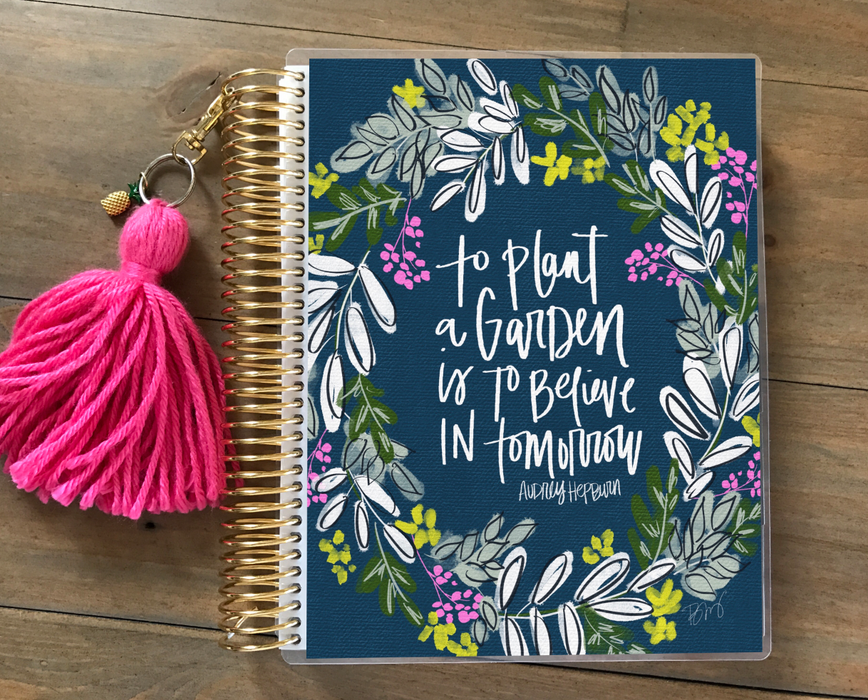Stylish Planners Home Decor and Stylish Gifts - Audrey Hepburn Planner Cover