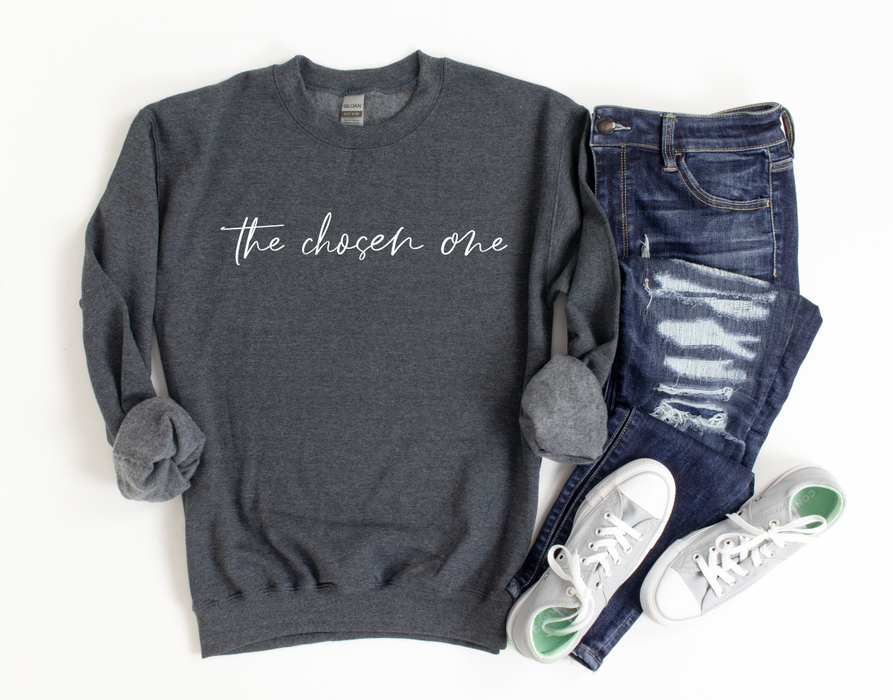 Stylish Planners Home Decor and Stylish Gifts - The Chosen One Sweatshirt