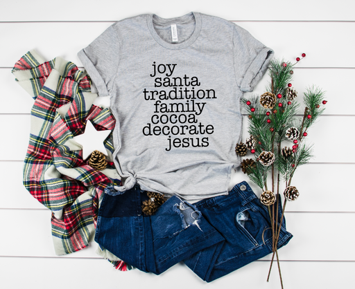 Stylish Planners Home Decor and Stylish Gifts - All Things Christmas T-Shirt