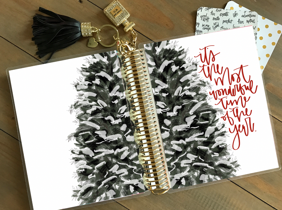 Stylish Planners Home Decor and Stylish Gifts - PRINTABLE Stylish Planner™ Cover Set - Christmas Tree
