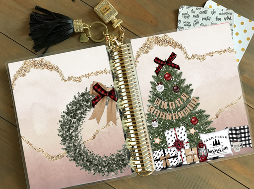 Stylish Planners Home Decor and Stylish Gifts - PRINTABLE Stylish Planner™ Cover Set - Farmhouse Christmas