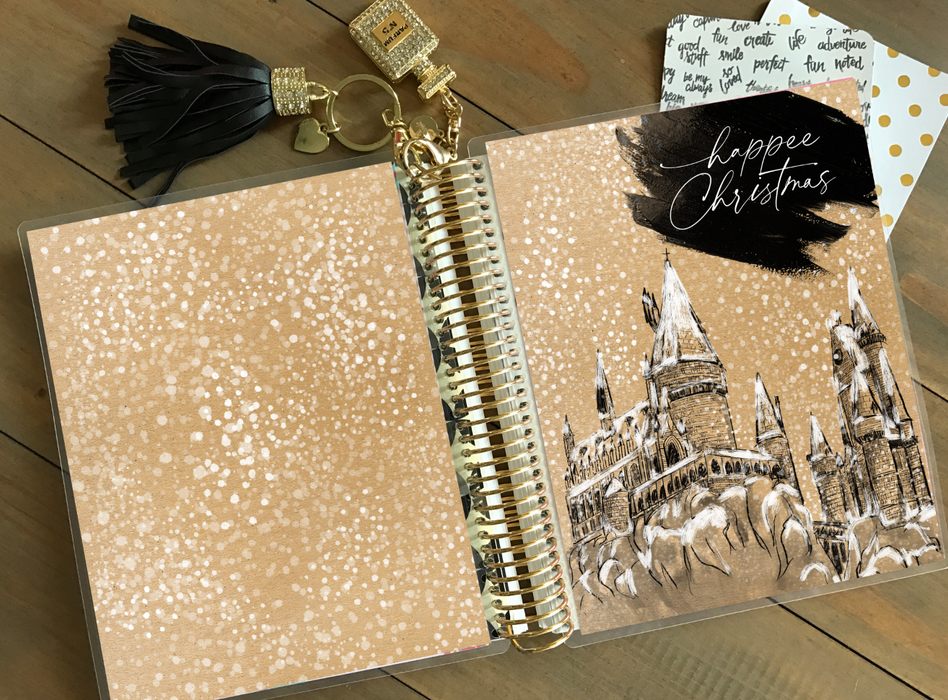 Stylish Planners Home Decor and Stylish Gifts - PRINTABLE Stylish Planner™ Cover Set - Happee Christmas