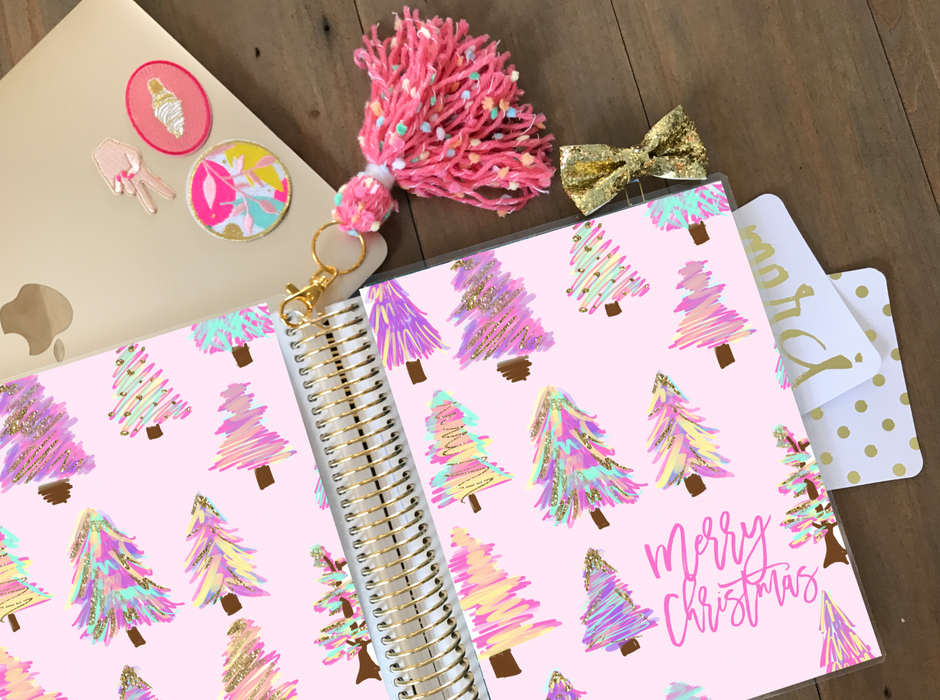 Stylish Planners Home Decor and Stylish Gifts - PRINTABLE Stylish Planner™ Cover Set - Pink Pines