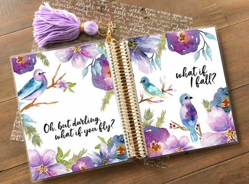 Stylish Planners Home Decor and Stylish Gifts - PRINTABLE Stylish Planner™ Cover Set - What if I Fall