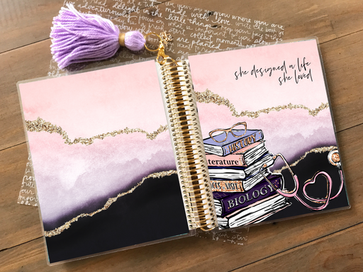 Stylish Planners Home Decor and Stylish Gifts - PRINTABLE Stylish Planner™ Cover Set - Nursing School