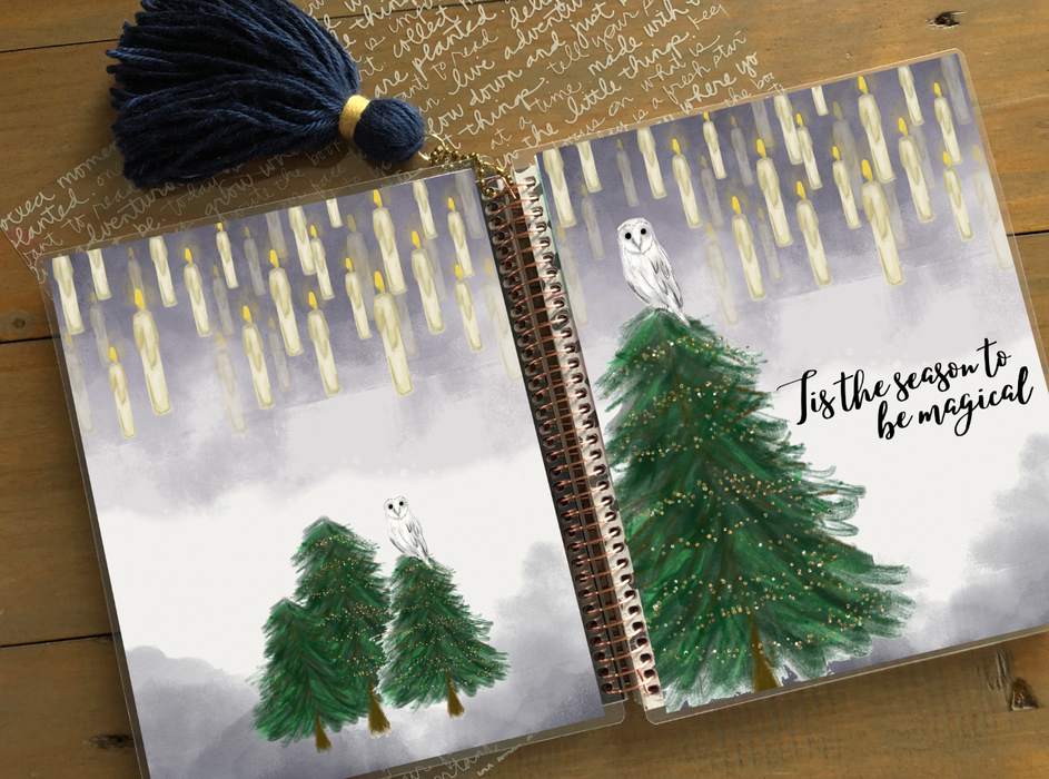 Stylish Planners Home Decor and Stylish Gifts - PRINTABLE Stylish Planner™ Cover Set - Magical Christmas