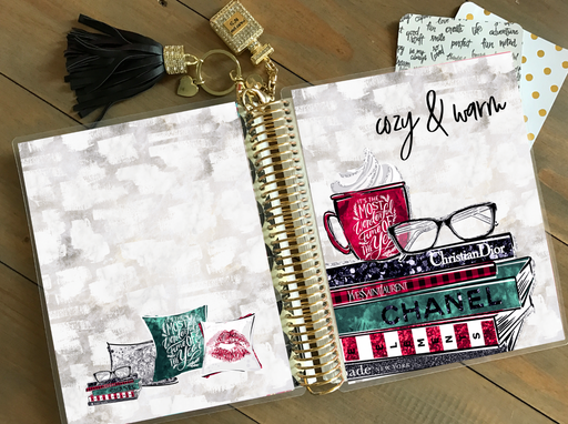 Stylish Planners Home Decor and Stylish Gifts - PRINTABLE Stylish Planner™ Cover Set - Mistletoe