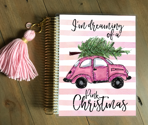 Stylish Planners Home Decor and Stylish Gifts - PRINTABLE Stylish Planner™ Cover Set - Pink Christmas