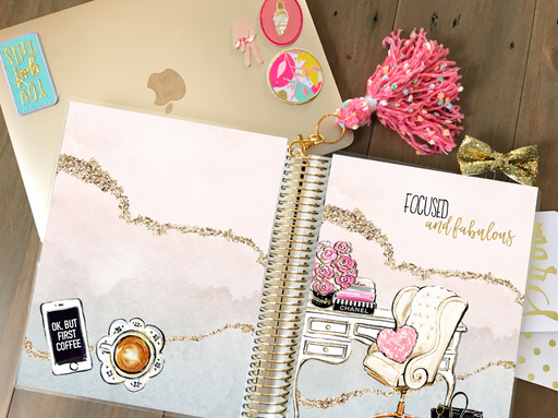 Stylish Planners Home Decor and Stylish Gifts - PRINTABLE Stylish Planner™ Cover Set - Fabulous