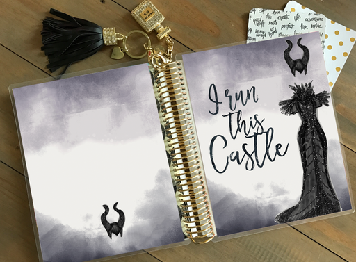 Stylish Planners Home Decor and Stylish Gifts - PRINTABLE Stylish Planner™ Cover Set - I Run This Castle
