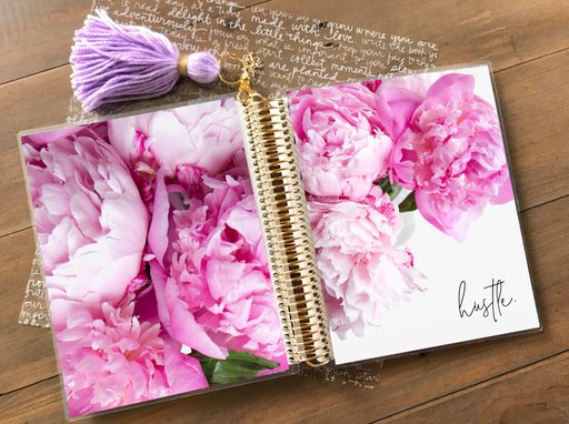 Stylish Planners Home Decor and Stylish Gifts - PRINTABLE Stylish Planner™ Cover Set - Peony