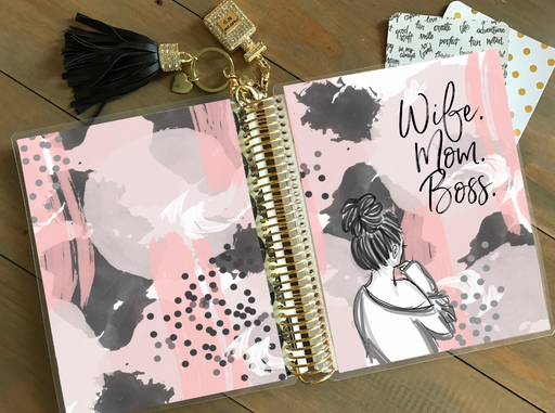 Stylish Planners Home Decor and Stylish Gifts - PRINTABLE Stylish Planner™ Cover Set - Mom Life