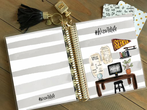 Stylish Planners Home Decor and Stylish Gifts - PRINTABLE Stylish Planner™ Cover Set - Wizard School