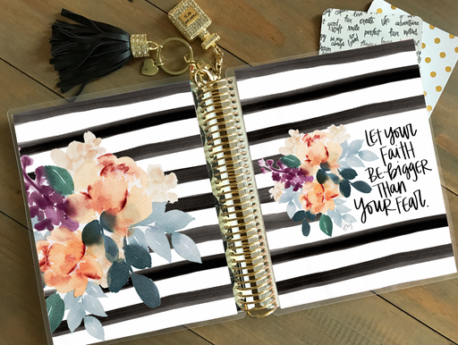Stylish Planners Home Decor and Stylish Gifts - PRINTABLE Stylish Planner™ Cover Set - Faith over Fear