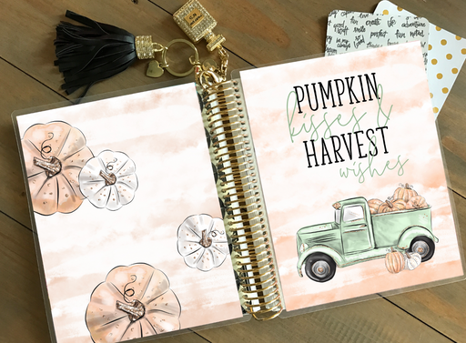 Stylish Planners Home Decor and Stylish Gifts - PRINTABLE Stylish Planner™ Cover Set - Pumpkin Kisses