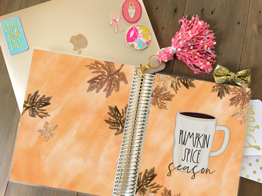 Stylish Planners Home Decor and Stylish Gifts - PRINTABLE Stylish Planner™ Cover Set - Pumpkin Spice Season