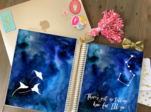 Stylish Planners Home Decor and Stylish Gifts - PRINTABLE Stylish Planner™ Cover Set - Ocean Princess