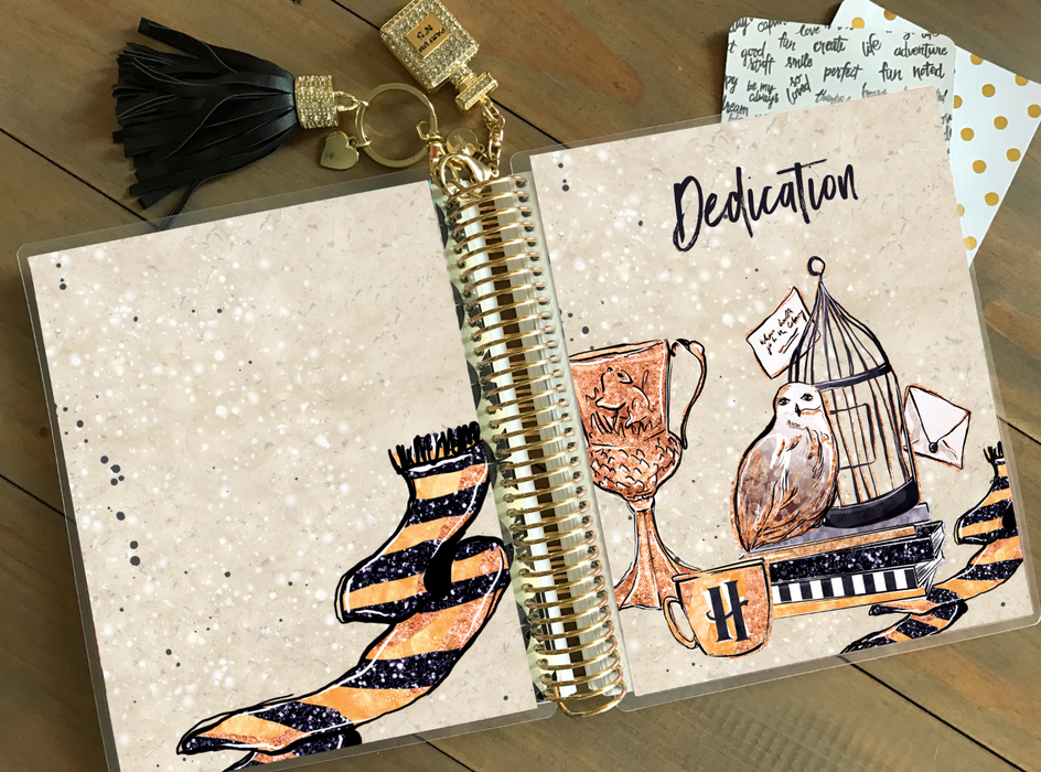 Stylish Planners Home Decor and Stylish Gifts - PRINTABLE Stylish Planner™ Cover Set - Dedication
