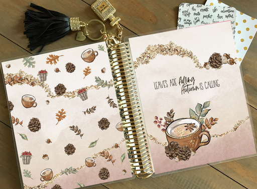 Stylish Planners Home Decor and Stylish Gifts - PRINTABLE Stylish Planner™ Cover Set - Spiced Pumpkin