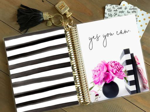 Stylish Planners Home Decor and Stylish Gifts - PRINTABLE Stylish Planner™ Cover Set - Yes You Can