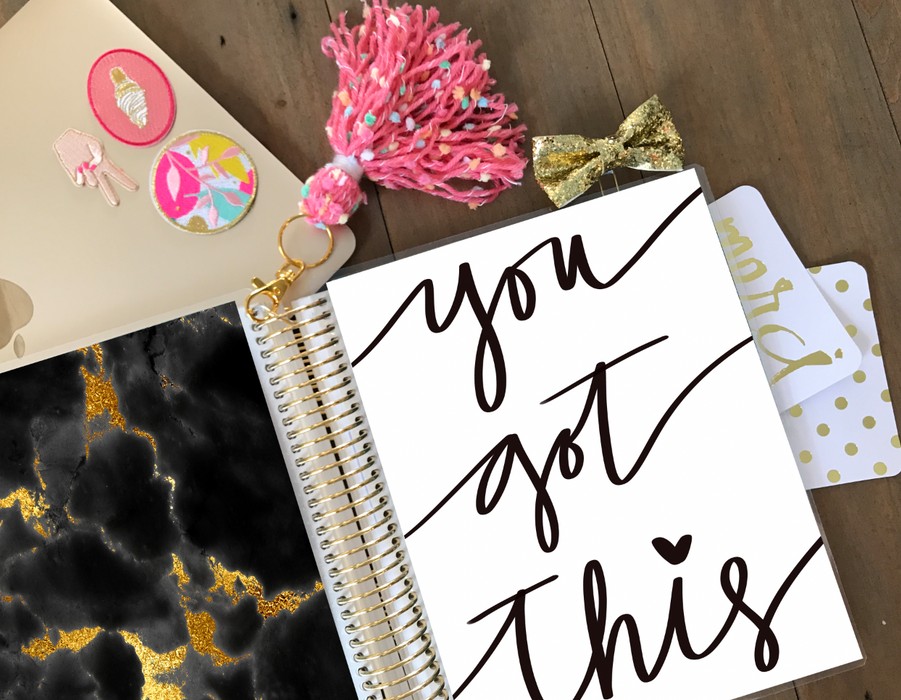 Stylish Planners Home Decor and Stylish Gifts - PRINTABLE Stylish Planner™ Cover Set - You Got This