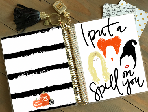 Stylish Planners Home Decor and Stylish Gifts - PRINTABLE Stylish Planner™ Cover Set - I Put A Spell On You