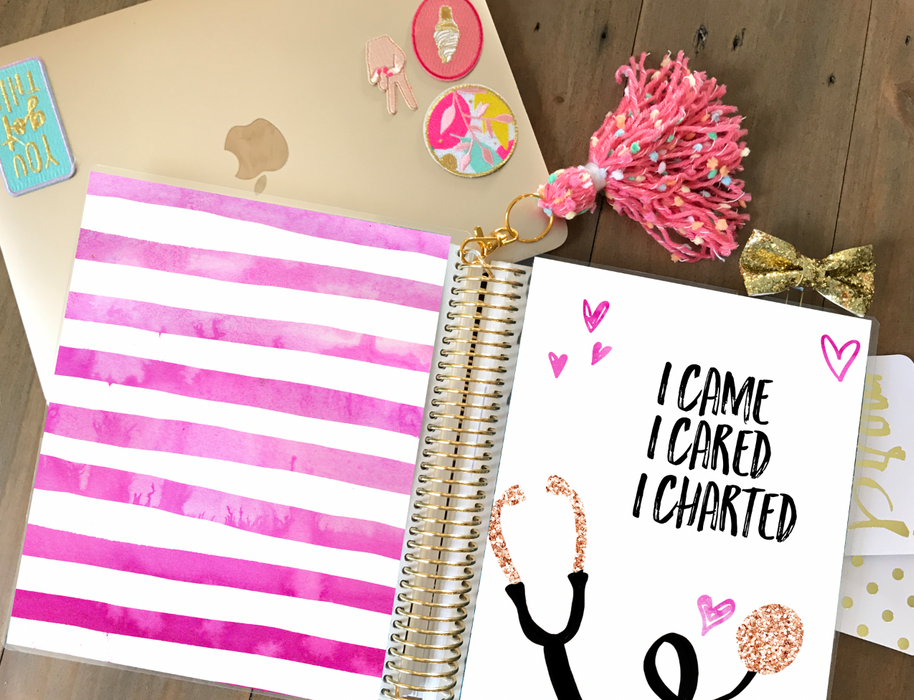 Stylish Planners Home Decor and Stylish Gifts - PRINTABLE Stylish Planner™ Cover Set - Nurse Life