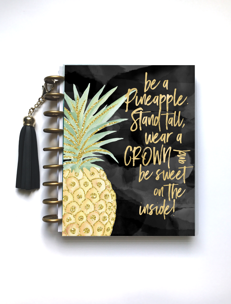 Pineapple - Planner Cover - Stylish Planner