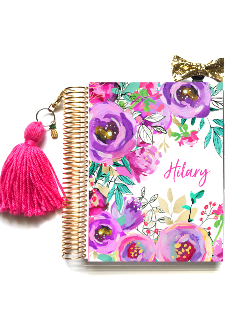 Poppy Planner Cover - Stylish Planner