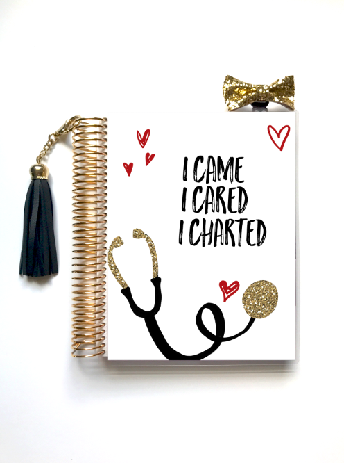 Nurse Life Planner Cover (Hand-Drawn by Britt) - Stylish Planner