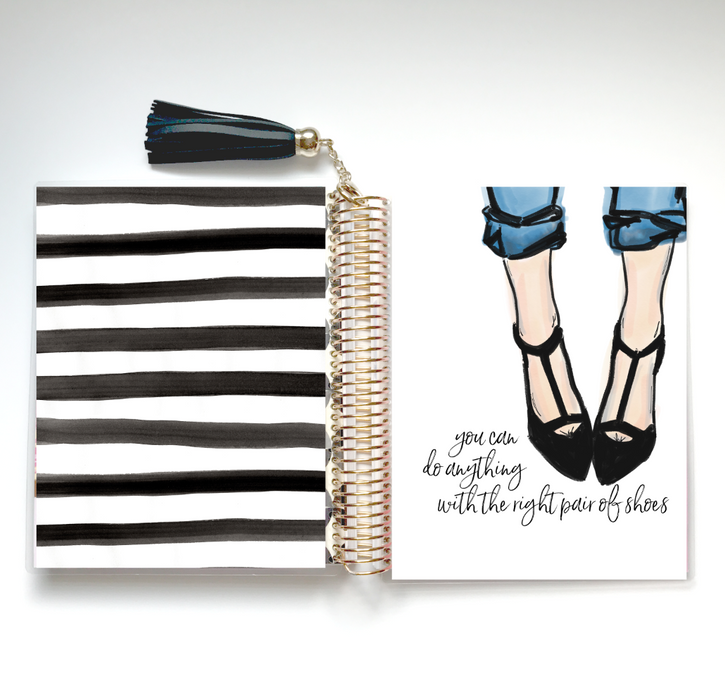 Stylish Planners Home Decor and Stylish Gifts - Right Pair of Shoes Planner Cover