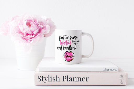 Stylish Planners Home Decor and Stylish Gifts - Lipstick Mug