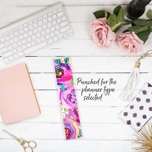 Poppy - Planner Bookmark - Stylish Planner