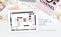 Stylish Planners Home Decor and Stylish Gifts - Styled & Chic Digital Planner Stickers