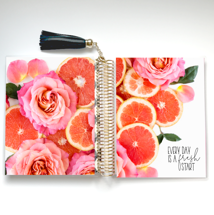 Stylish Planner and Stylish Gifts - Fresh Start Planner Cover